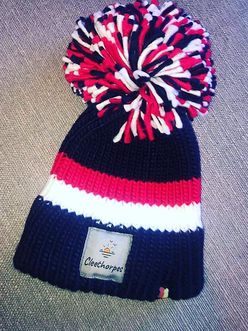 Lincolnshire Patriot - Big Bobble Hat Cleethorpes