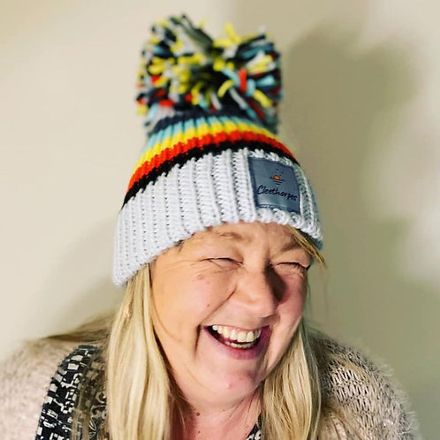 Seaside Living- Big Bobble Hat Cleethorpes (Discontinued- Limited Edition)