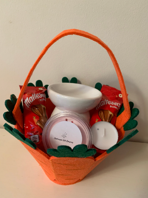 Easter Wax Melt Gift Set With Free Easter Card and Chocolate