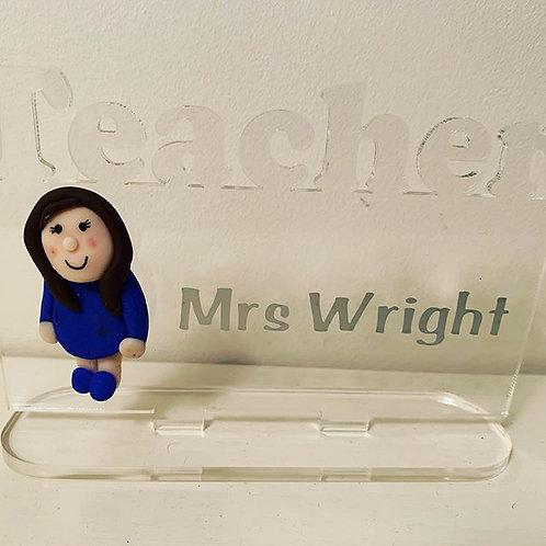 Teacher Handmade Plaques