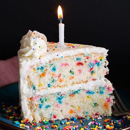 Birthday Cake -Vanilla Buttercream, Party Time and Wishes - Wax Melt