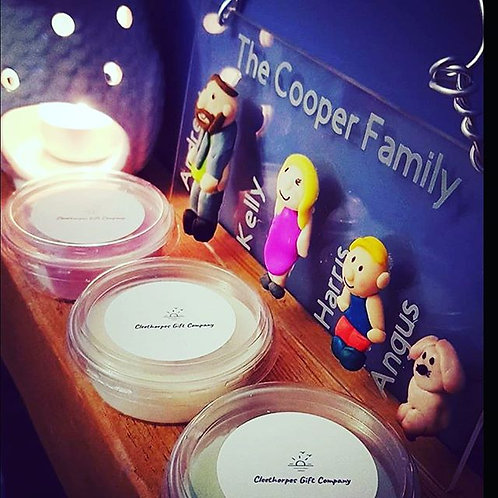 Handmade Plaques- Special Offer Upto  6 People and 3 Wax Melts
