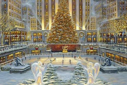 New York Christmas - Roasted Chestnuts, Vanilla and Winter Snow- Wax Melt