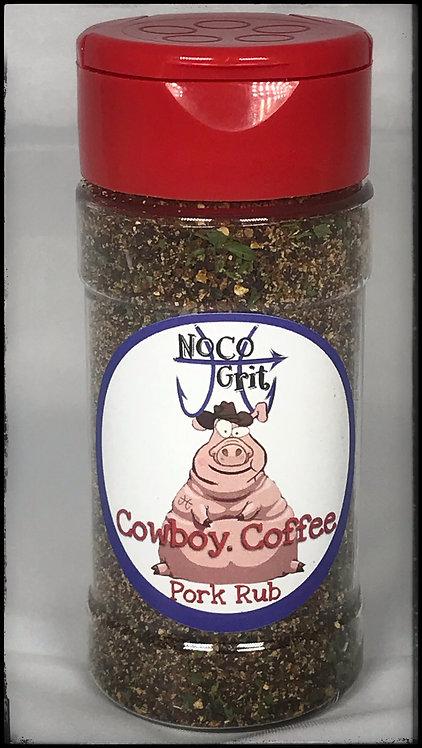 Cowboy Coffee Pork Rub- 2.5 oz.