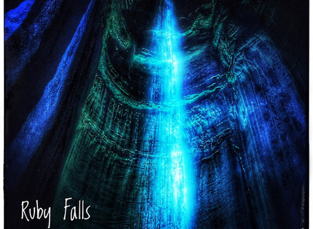 Ruby Falls and Cathedral Caverns State Park.