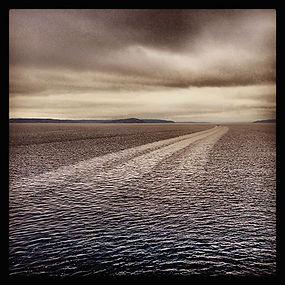 Hans York Touring Bainbridge Ferry