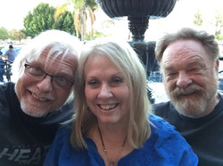 With Lainey Ballew and Mark Turnbull