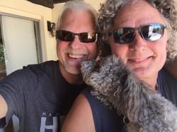 With my friend Eric Hansen in Tucson