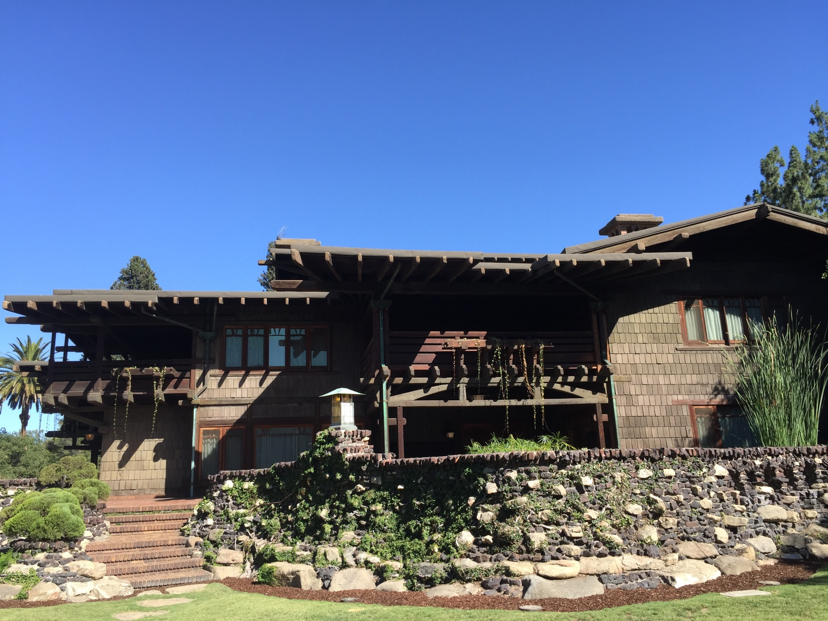 Gamble House in Passadena