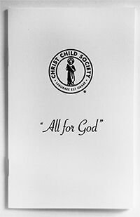 All For God Booklet