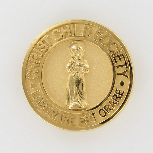 Christ Child Society Pin or Pendant