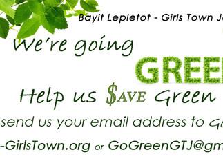 Tu Bishvat - Help us Save the Trees