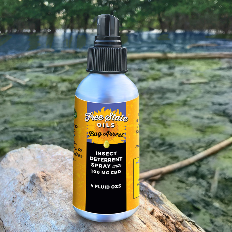 Bug Arrest Herbal Insect Repellent Spray with CBD