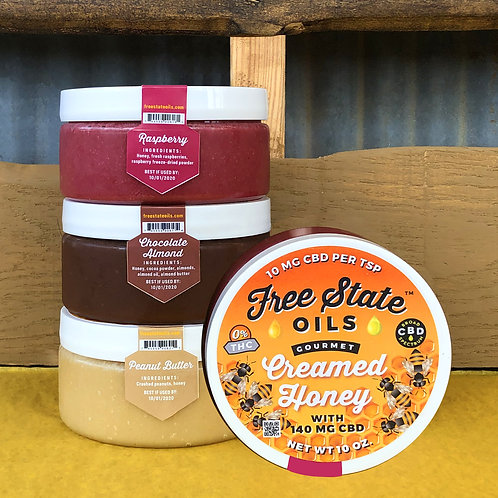 Creamed Honey with CBD