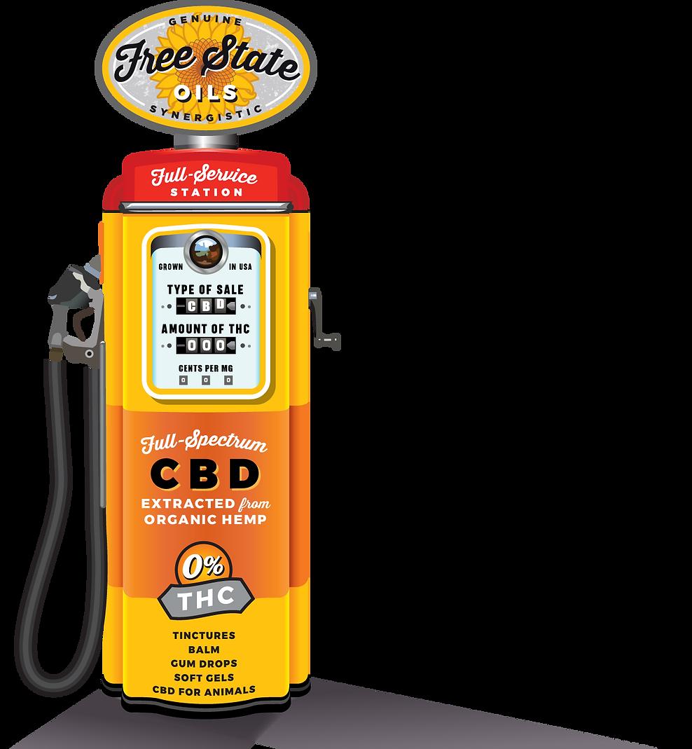 Free State Oils Full-Spectrum CBD Produc