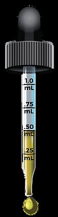 CBD Tincture Dropper - Half