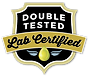 Double Tested, Lab Certified CBD Products