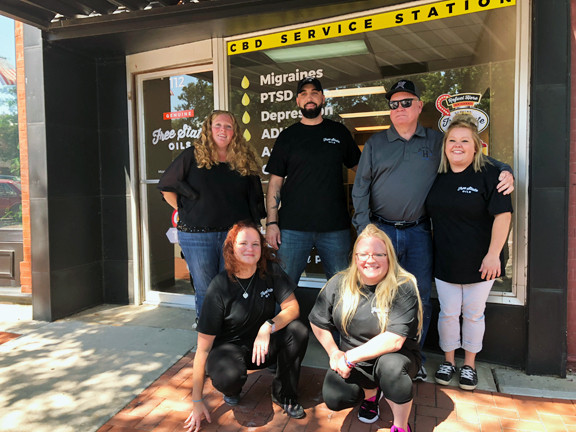 Holton, Kansas CBD store team