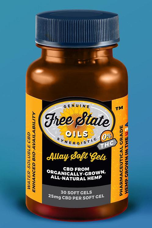 Allay CBD Soft Gels - 30 count