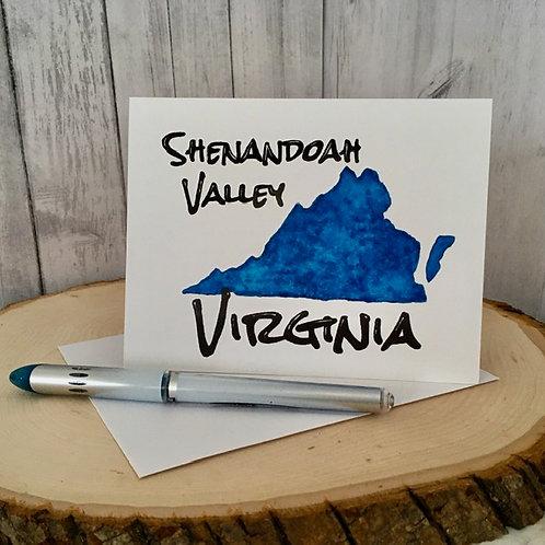 Virginia Note Card