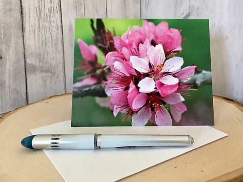 Floral Note Card