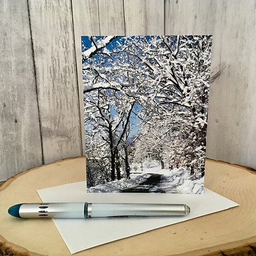 Winter Note Card