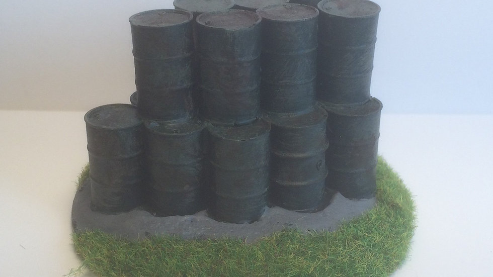 S02 28mm Scale Oil Drums(19)