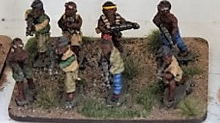 T0003 20mm African Warriors with RPG\'s