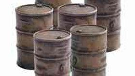TWS H22 Set of 6 Oil Barrels