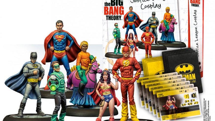 The Big Bang Theory Justice League Cosplay Knight Models SKU KM-35DC280