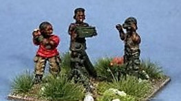 T0008 20mm African Mortar Team