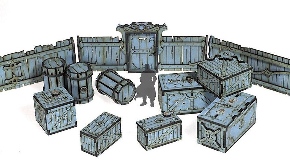Red Oak Crates, Fences and Barrels