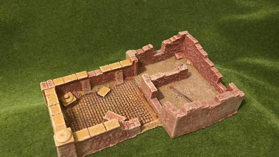 TWS SF37 Middle Eastern Large Ruined Desert Building
