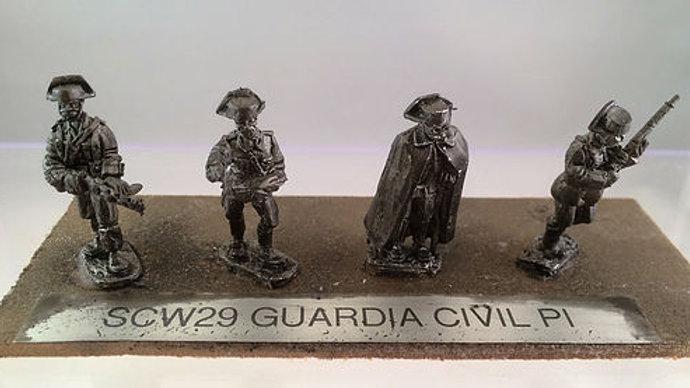 SCW29 GUARDIA CIVIL PLATOON COMMAND IN 1931 UNIFORM (4)