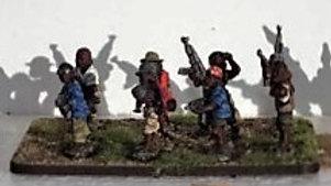 T0005 20mm African Boy Warriors AK47\'s