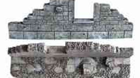 TWS SF25 RUINED CITY BUILDING STRAIGHT SECTION