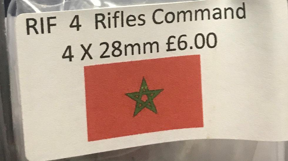 RIF4 Rifles Command 4x28mm