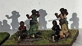 T0010 20mm African DSHK HMG team each with 3 Crew