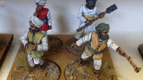 ART15 Irregular Indian Artillery crew