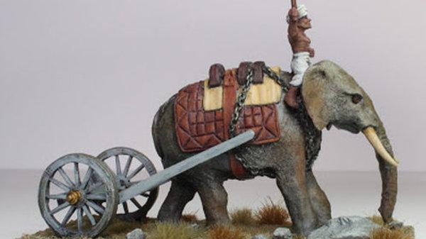 ART06 Elephant Tow Carriage