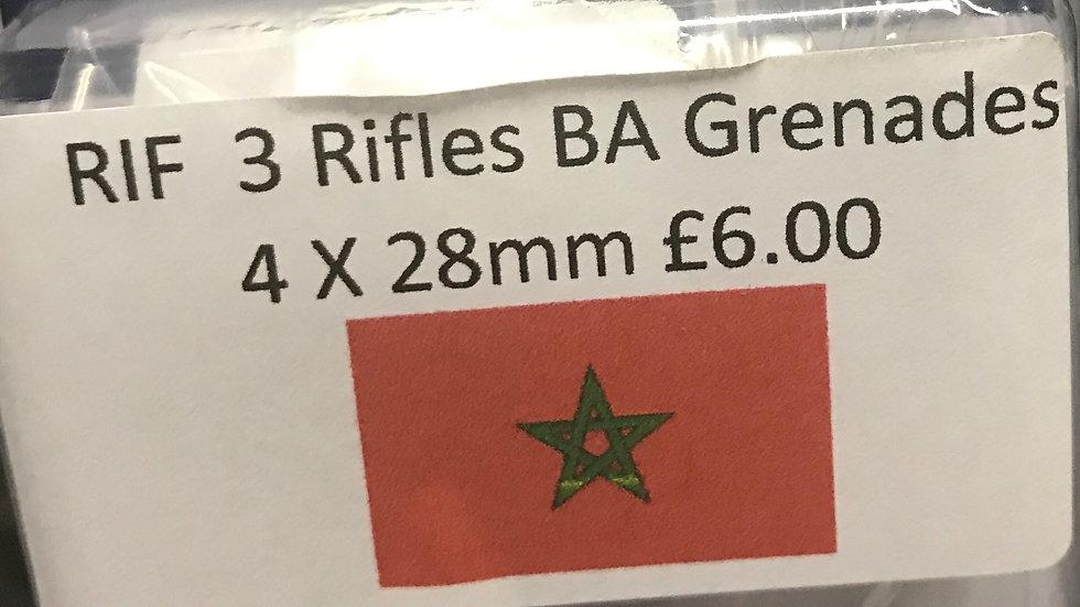 RIF3 Rifles BA Grenades 4x28mm