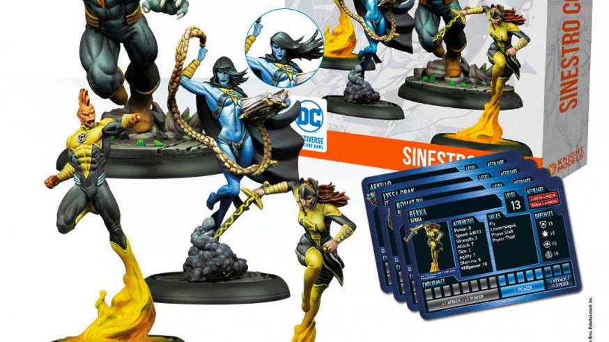 Sinestro Corps Knight Models SKU KM-DCUN061
