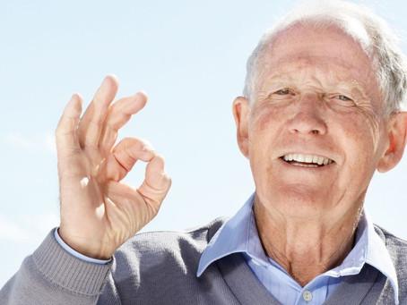 12 passos para a saúde mental em idosos