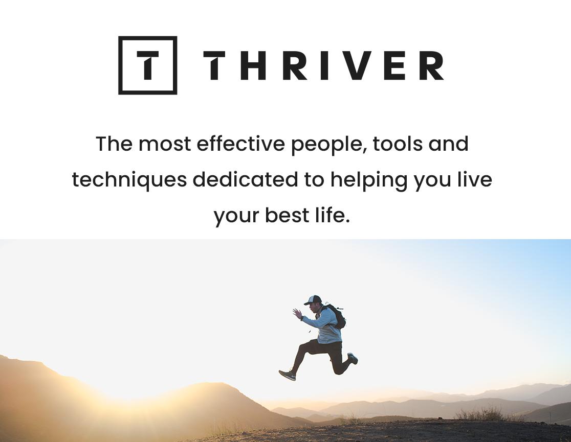 Thriver social share image