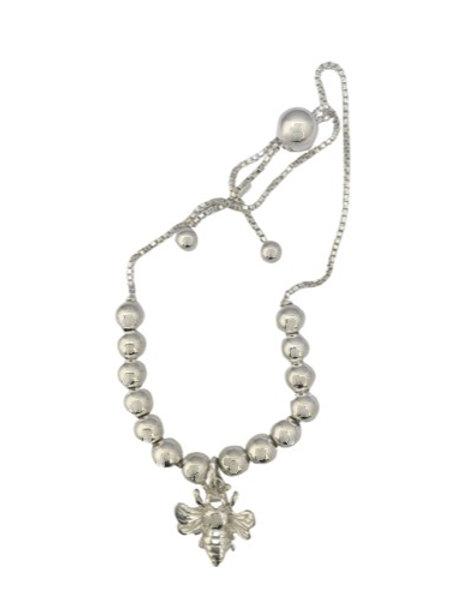 Sterling Silver silder bee bracelet