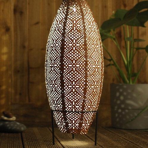 Oval Solar Powered Lantern