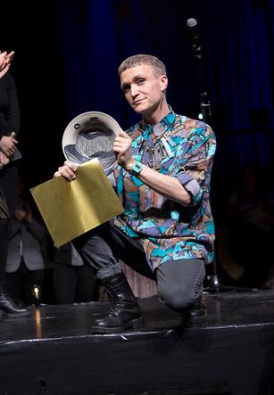 Per Störby Jutbring, wins the Manifest Gala prize