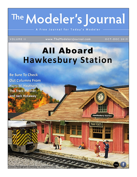 The Modeler's Journal - October - Decemb