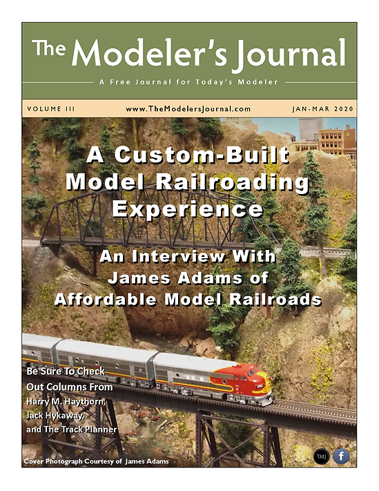 The Modeler's Journal - January - March