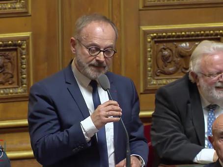 Joël GUERRIAU : Question sur la dématérialisation du service d'immatriculation des véhicules